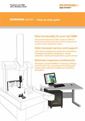 Brochure:  Renishaw retrofit – Step by step guide