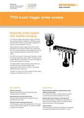 TP20 touch trigger probe system flyer