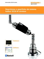 Brochure:  Descrizione e specifiche del sistema ballbar QC20-W wireless