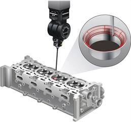 REVO® valve seat and stem scanning