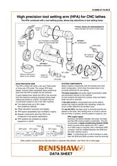 Data sheet: High precision tool setting arm (HPA) for CNC lathes