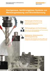 Broschüre: Berührungslose Systeme zur Werkzeugmessung und Brucherkennung