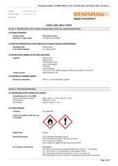 Safety Data Sheet:  Poly Release Spray