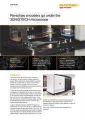 Case study:  Renishaw encoders go under the 3DHISTECH microscope