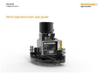 User guide:  XK10 alignment laser