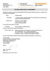 Certificate (CE): Cabled Boretrak Systems ECD-YK2017-014