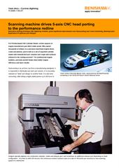 Case study: CNC Cylinder Heads - Scanning machine drives 5-axis CNC