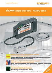 Poster: SiGNUM™ angle encoders - FANUC serial (English and German)