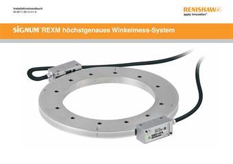Installationshandbuch: SiGNUM™ REXM höchstgenauses Winkelmess-System