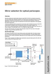 Application note:  Mirror selection for optical periscopes