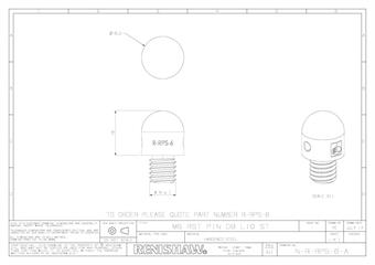 Technical drawing:  R-RPS-6