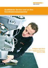 Broschüre: CMM Service