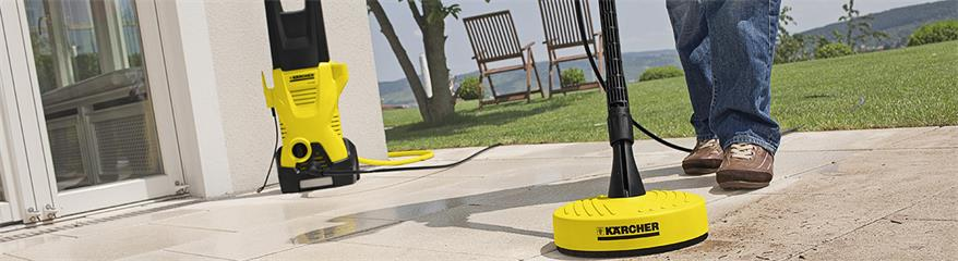 Karcher pressure washer in use. Credit: Karcher