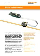 Data sheet:  RGH34 encoder system