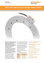 Data sheet:  REXA ultra-high accuracy absolute angle encoder