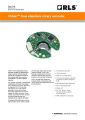 Data sheet:  Orbis true absolute rotary encoder