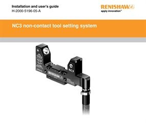 Installation & user's guide:  NC3 non-contact tool setting system