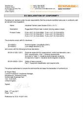 Certificate (CE): FLM-10-TH ECD-YK2017-015