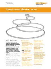 Katalogový list:  Úhlový snímač SiGNUM™ RESM