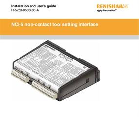 Installation & user's guide:  NCi-5 non-contact tool setting interface