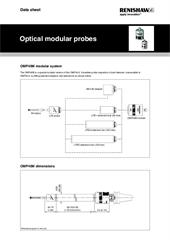 Data sheet:  Optical modular probes