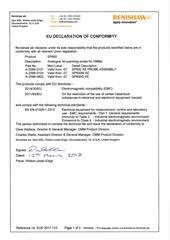 Certificate (CE):  2017-123 SP600