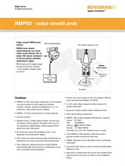 Bilgi formu: RMP60 - radyo sinyalli prob