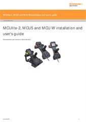 Installation & user's guide:  MCU