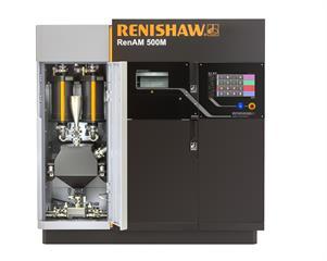 RenAM 500M front view filter chamber door open: RenAM 500M additive