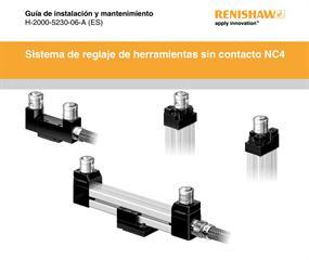 Guía de instalación y uso:  Sistema de reglaje de herramientas sin contacto NC4