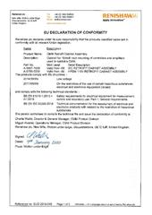 Certificate (CE):  controllers CMM retrofit cabinet assembly EUD2019-046