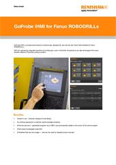 Data sheet:  GoProbe iHMI for Fanuc ROBODRILLs