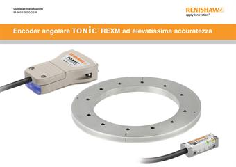 Guida all'installazione:  Encoder angolare TONiC™ REXM ad elevatissima accuratezza