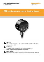 Leaflet: RMI cover replacement instructions