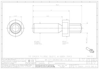Technical drawing:  A-5004-7443