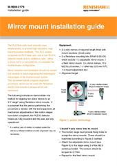 Installation guide: Mirror mount