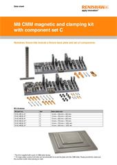 Data sheet:  M8 magnetic and clamping kit with component set C