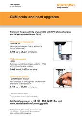 Flyer: CMM probe and head upgrades: TP20, PH10, motorised head ...