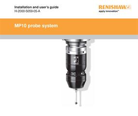 Installation & user's guide:  MP10 probe system