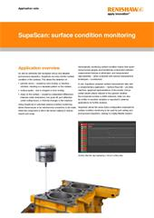 Application note:  SupaScan surface condition monitoring