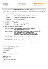 Certificate (CE): C-ALS Mk3 Probe ECD-YK2017-004A