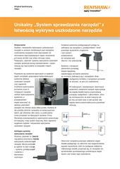 """Artykuł techniczny: TRS1 - Unikalny """"System sprawdzania narzędzi"""" z łatwością wykrywa uszkodzone narzędzia"""