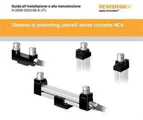 Guida di installazione e d'uso:  Sistema di impostazione utensili senza contatto NC4