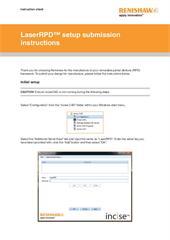 Instruction sheet: LaserRPD™ setup submission instructions