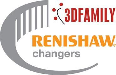 3D Family Renishaw changers logo