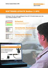 Kurzanleitung: Software Update Ballbar 5 HPS