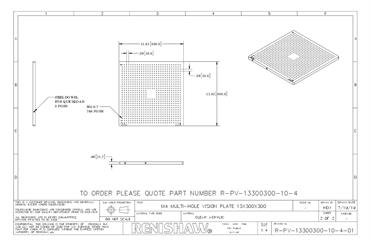 Technical drawing:  R-PV-13300300-10-4