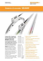 Scheda tecnica: Sistema di encoder SiGNUM™ SR, Si (uscite digitali e analogiche)