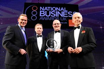 Renishaw wins national business award 2011