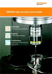 Brochure:  RMP600 high accuracy touch probe